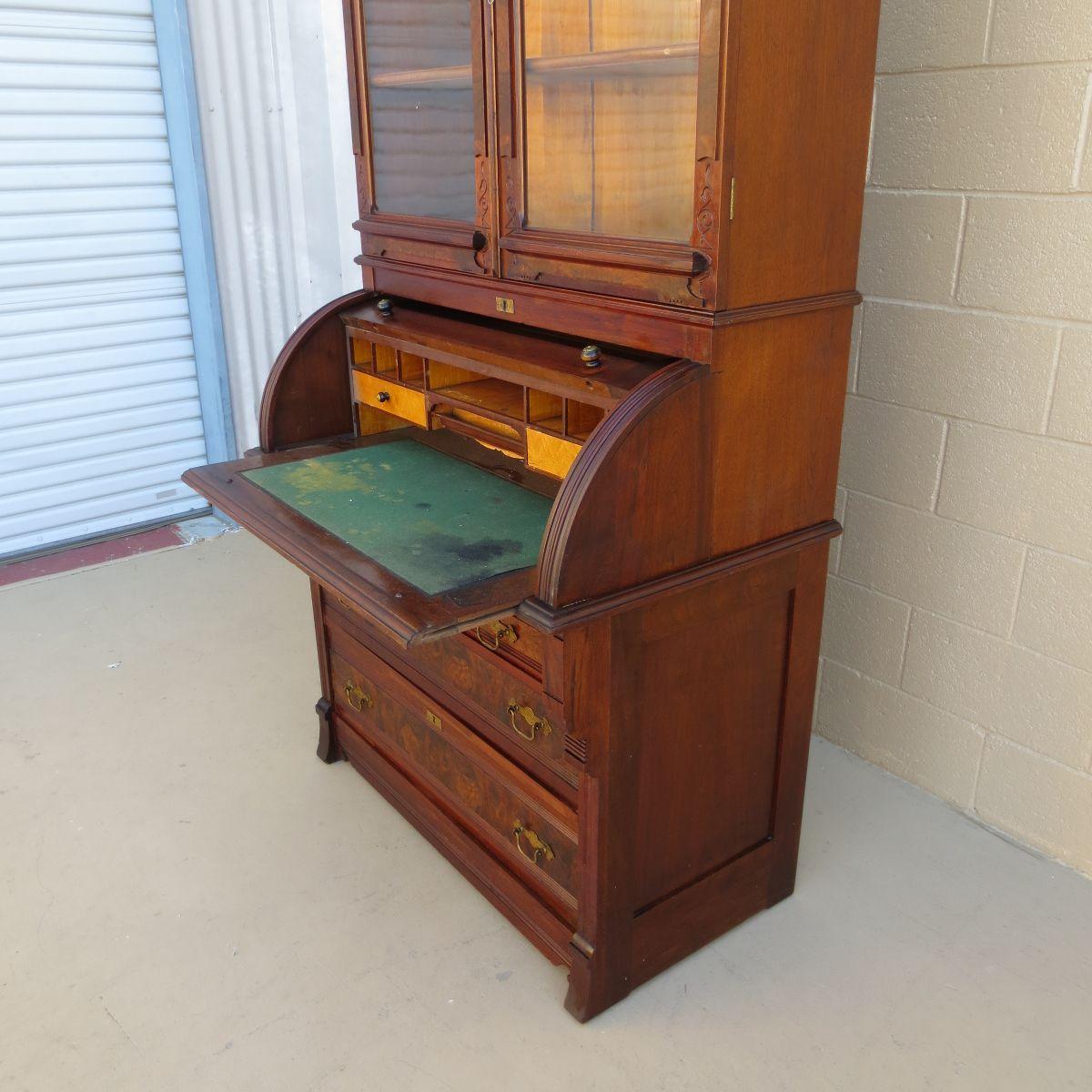 secretary desk bookcase - Google Search - Secretary Desk Bookcase - Google Search Antiques Pinterest