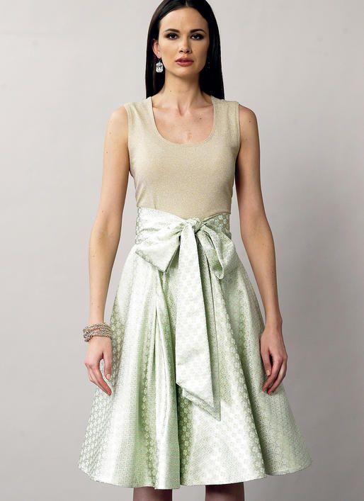 V8882 | Vogue Patterns | I Wish I Were Wearing | Pinterest