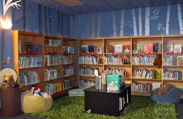 school library reveal | pretty handy girl | library refurb ideas