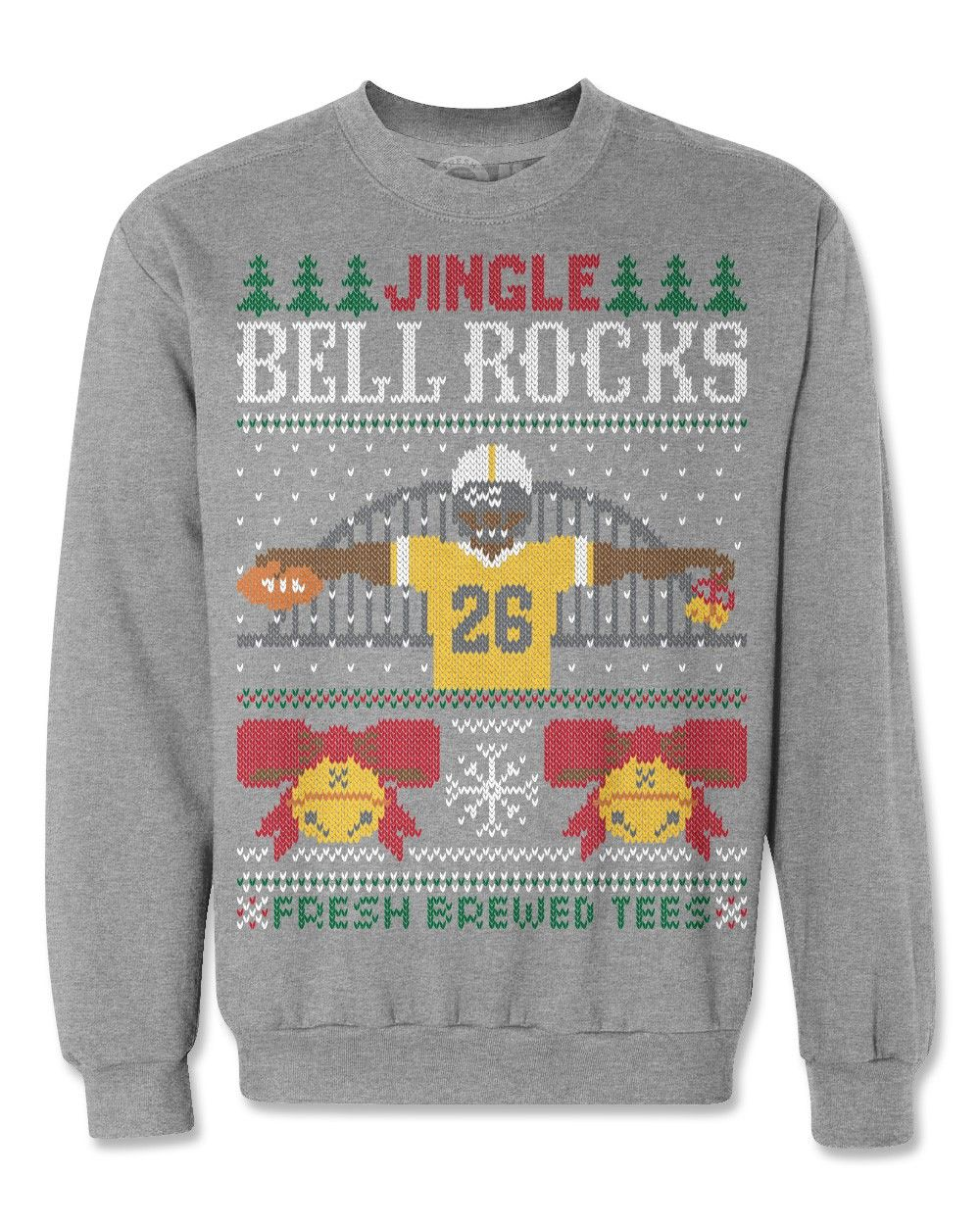 Le'Veon Bell Ugly Christmas Sweatshirt | Steelers and Pirates and ...