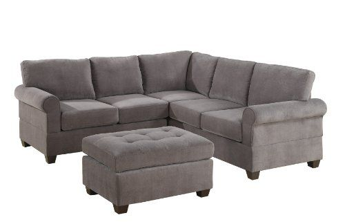 Best Bobkona Draise 3 Piece Reversible Sectional With Ottoman 400 x 300