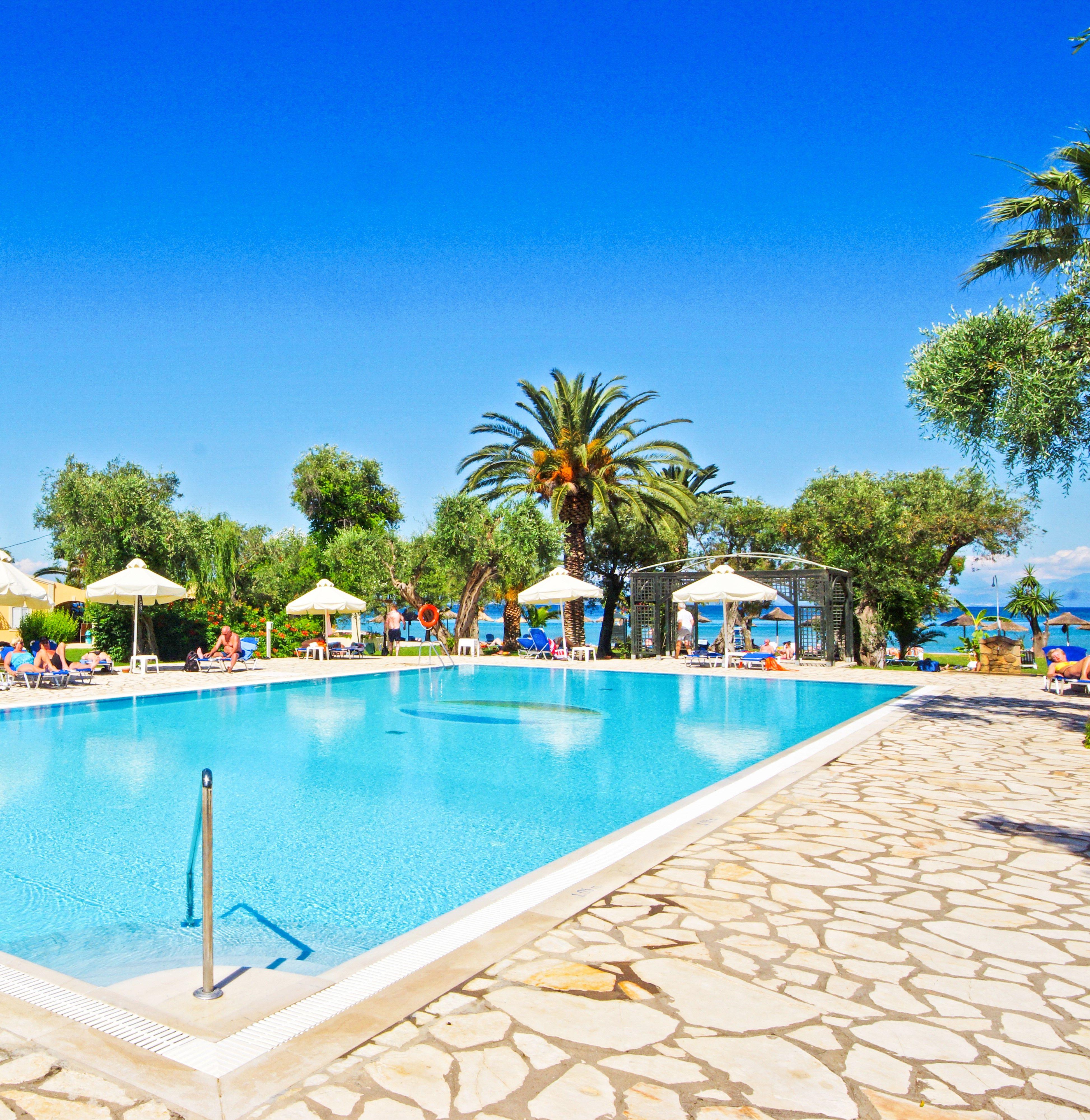 Griechenland Urlaub In Griechenland Urlaub Auf Korfu Delfinia Hotel