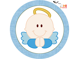 Angel para Nios Etiquetas Candy Bar para Imprimir Gratis