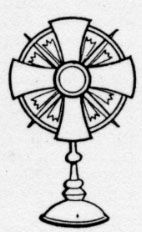 Monstrance Colouring Pages Monstrance Homeschool Art Coloring