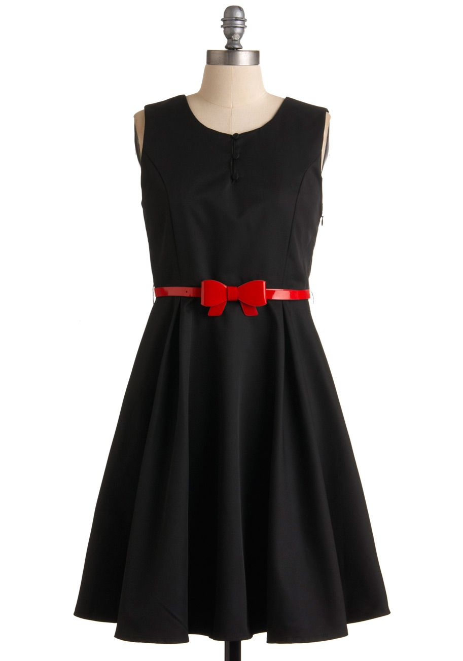 Fab and games tied aline dress dabbing bow belt and lbd