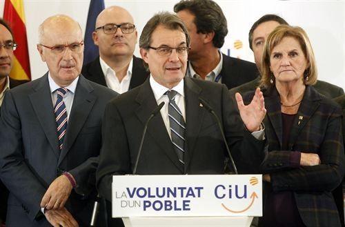 CiU admite que será más difícil lograr estado propio tras su victoria parcial