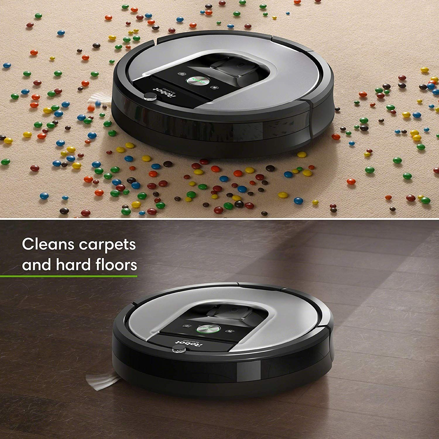Irobot Roomba 960 Robot Vacuum Wi Fi Connected Mapping Works With Alexa Ideal For Pet Hair Carpets In 2020 Irobot Roomba Irobot Robot Vacuum