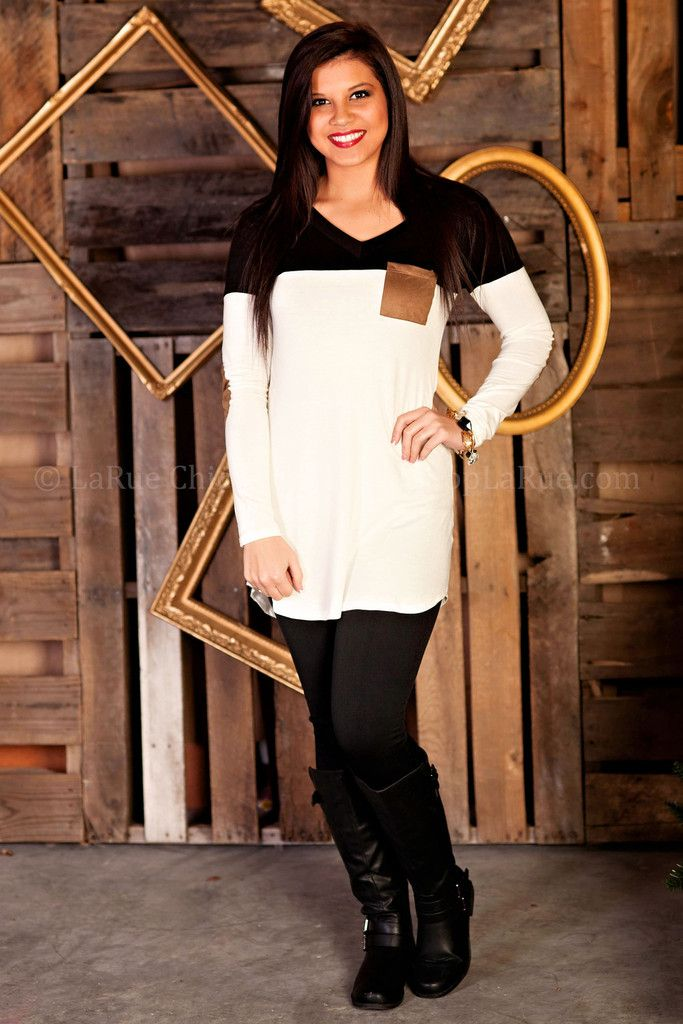HOME FOR THE HOLIDAYS TUNIC LaRue Chic Boutique $32