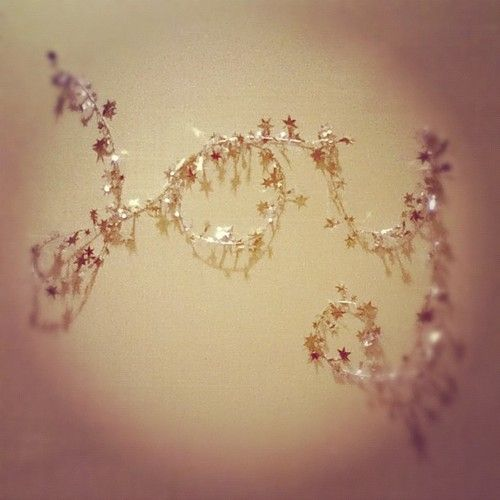 Inside Apartments Cheap: Silver Wire Garland (mine From