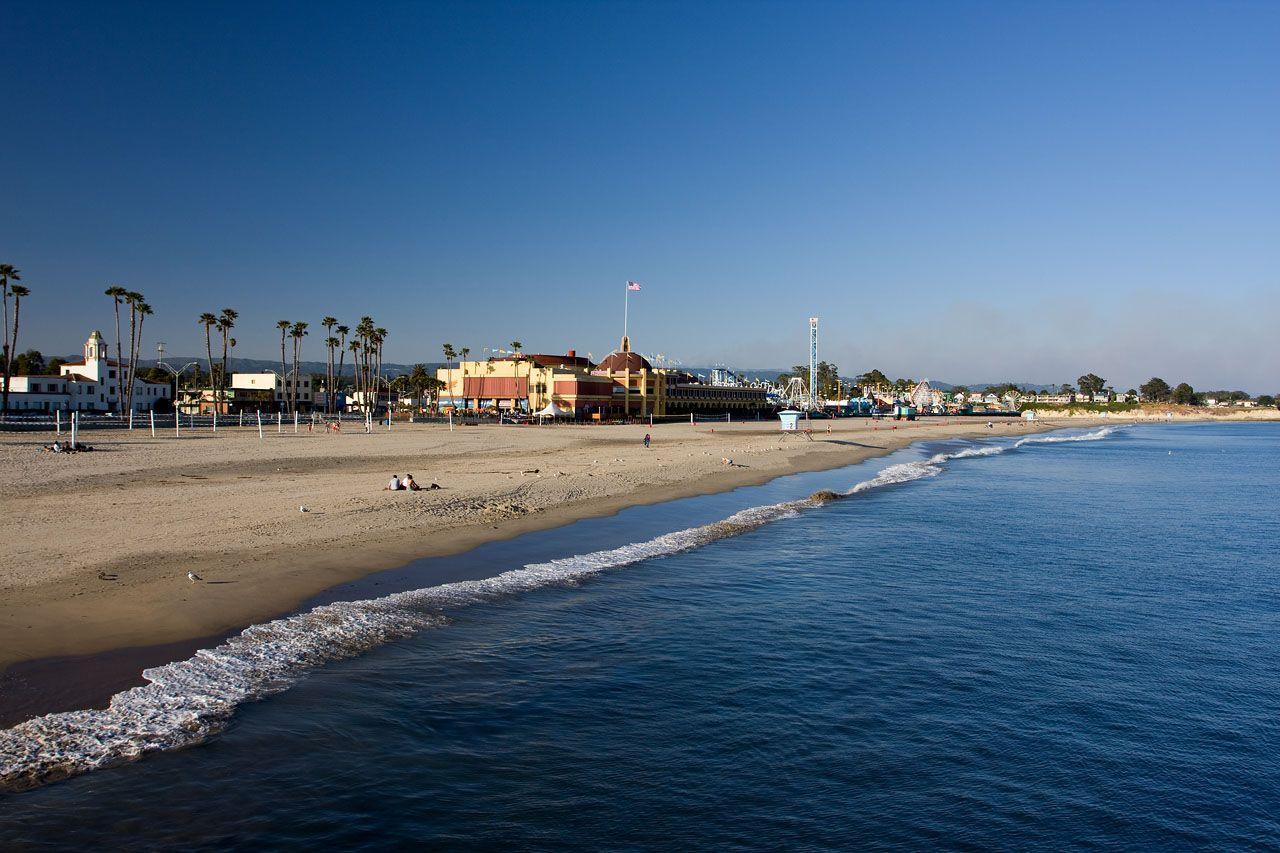 California Santa Cruz California Santa Cruz Beach Boardwalk Beach Santa