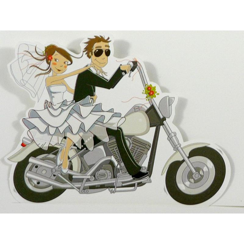 para młoda na motorze, motor