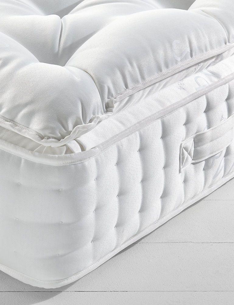 Luxury Salute 10000 Pocket Sprung Pillowtop Mattress With Wool & Luxury Salute 10000 Pocket Sprung Pillowtop Mattress With Wool ... pillowsntoast.com