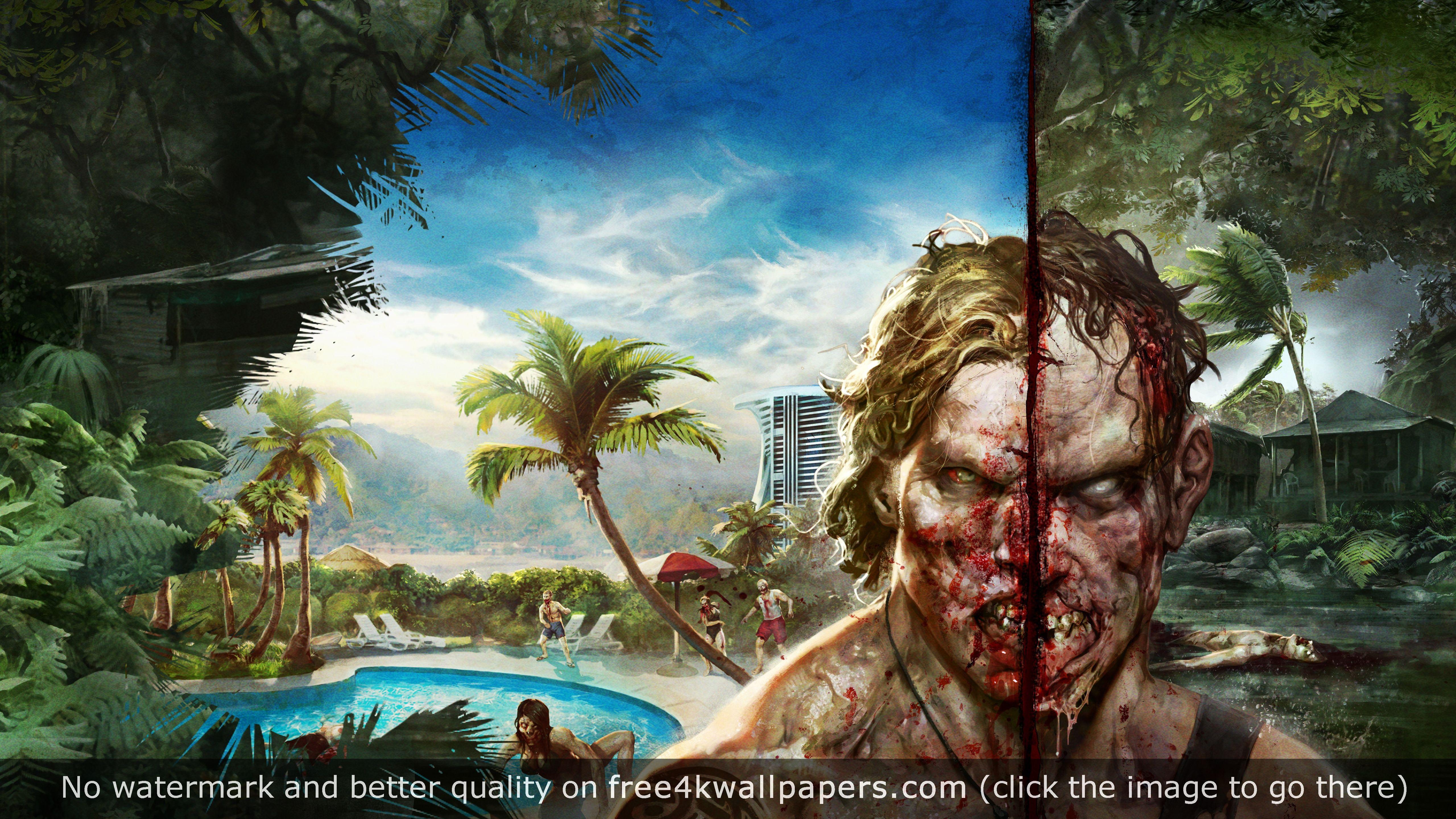 Dead Island Definitive Edition 5K Wallpaper