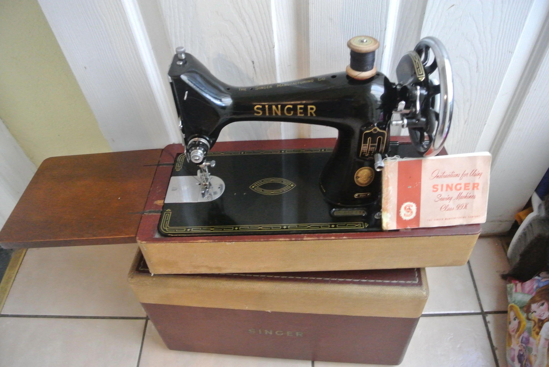 singer antique 99k sewing machine with instruction manual singers rh pinterest ca Vintage Singer 99K Sewing Machine Singer Sewing Machine 27K