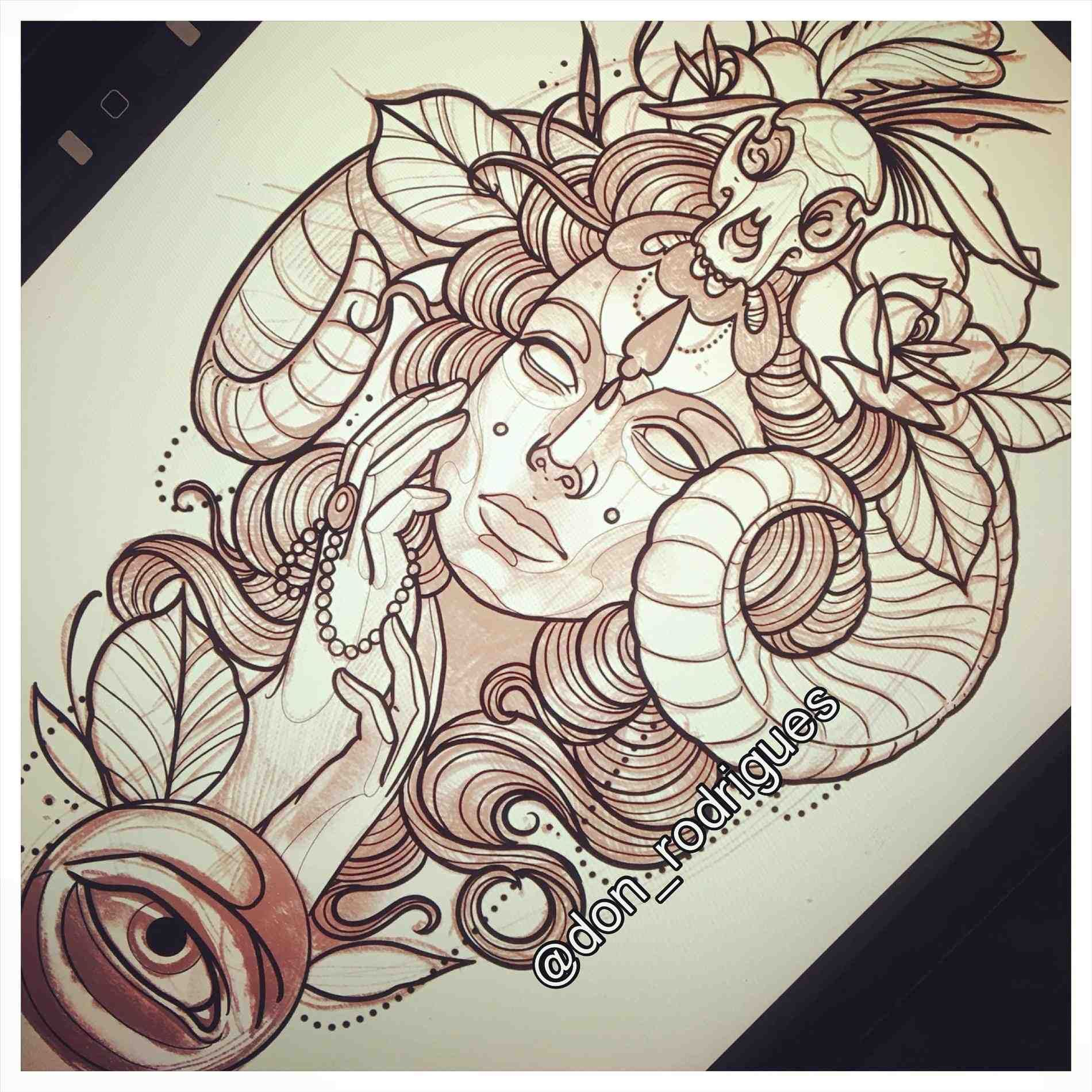 220ebe0ef tattoos u by cree design neo traditional girl drawing for a tattoo woman  tattoos u art by cree my own personal piece