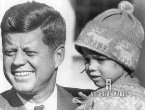 JFK & Caroline 1960