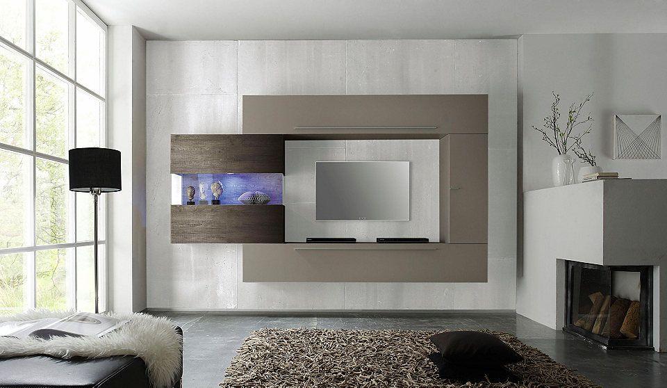 LC »Line« Wohnwand (4-tlg) Jetzt bestellen unter   moebel - wohnzimmer italienisches design