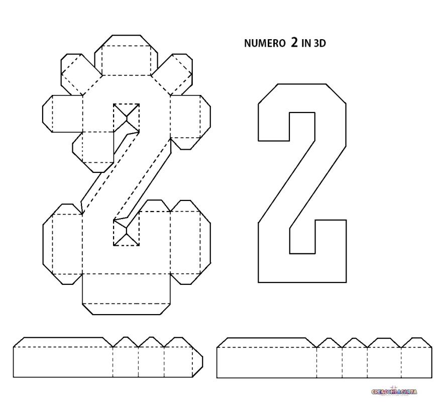 Lettere Dell Alfabeto E Numeri In 3d Fai Da Te Diy Birthday Decorations Diy Crafts For Home Decor Diy Letters
