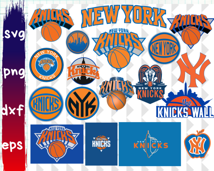 New York Knicks Primary Logo New York Knicks Logo New York Knicks Knicks