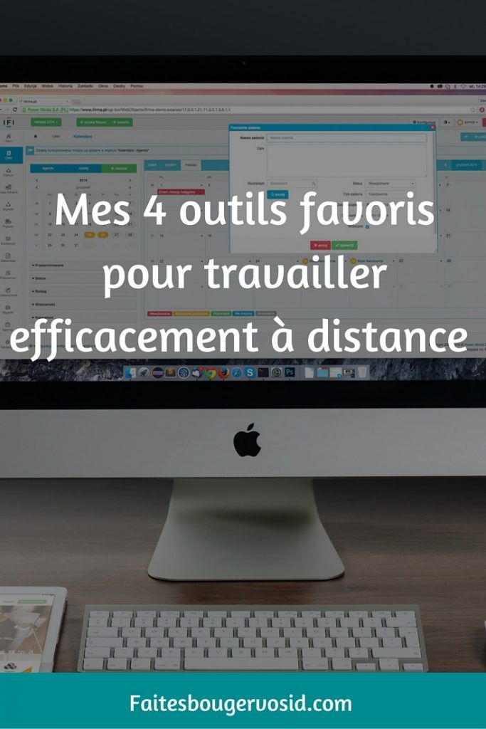 t u00e9l u00e9travail   4 outils pour travailler efficacement  u00e0 distance
