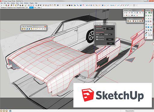 sketchup. programa de diseño gratis. | lugares que visitar | pinterest