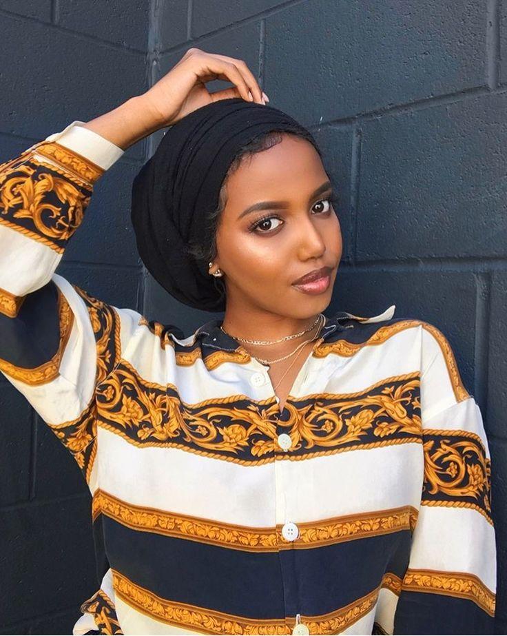 Somalische Frauen | Head scarf styles, Turban style, Hair