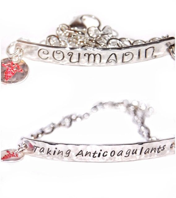 plus grand choix chercher meilleure vente Silver Medical Alert Bracelet, sterling silver medical ...