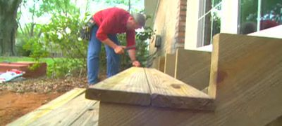 Best How To Build Exterior Wood Steps Wood Steps Exterior 400 x 300