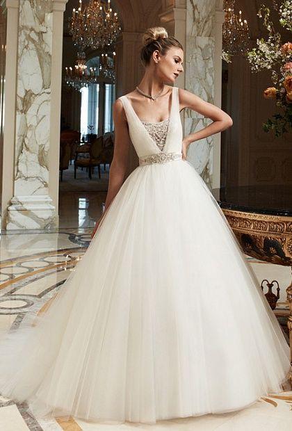 Виды свадебных платьев | Стили свадебных платьев, Бальное ...