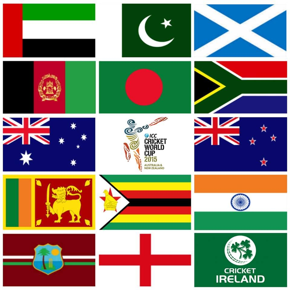 cricket team flags images