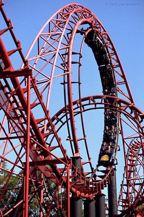 Orient Express Worlds Of Fun Kansas City Missouri Usa Worlds Of Fun Amusement Park Rides Kansas City Missouri
