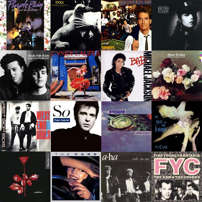 102 Greatest 80's Songs