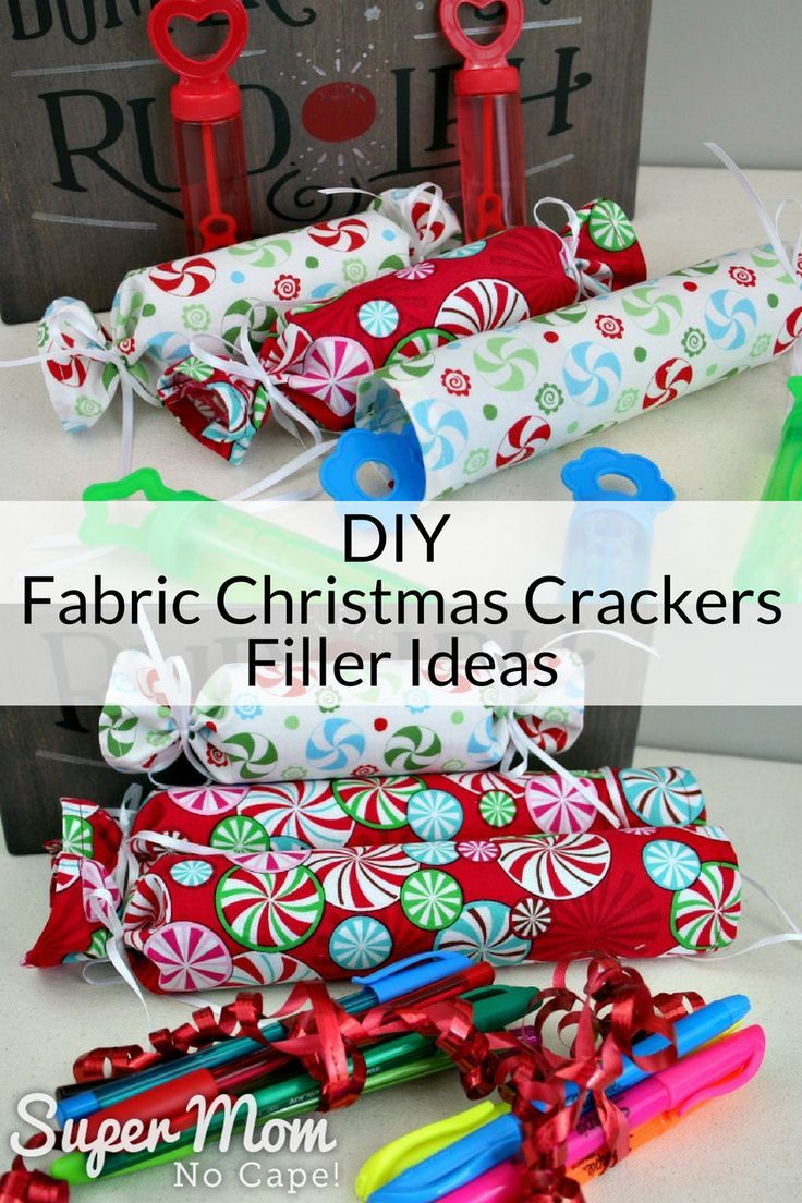 DIY Fabric Christmas Crackers Filler Ideas | Share Your Craft ...