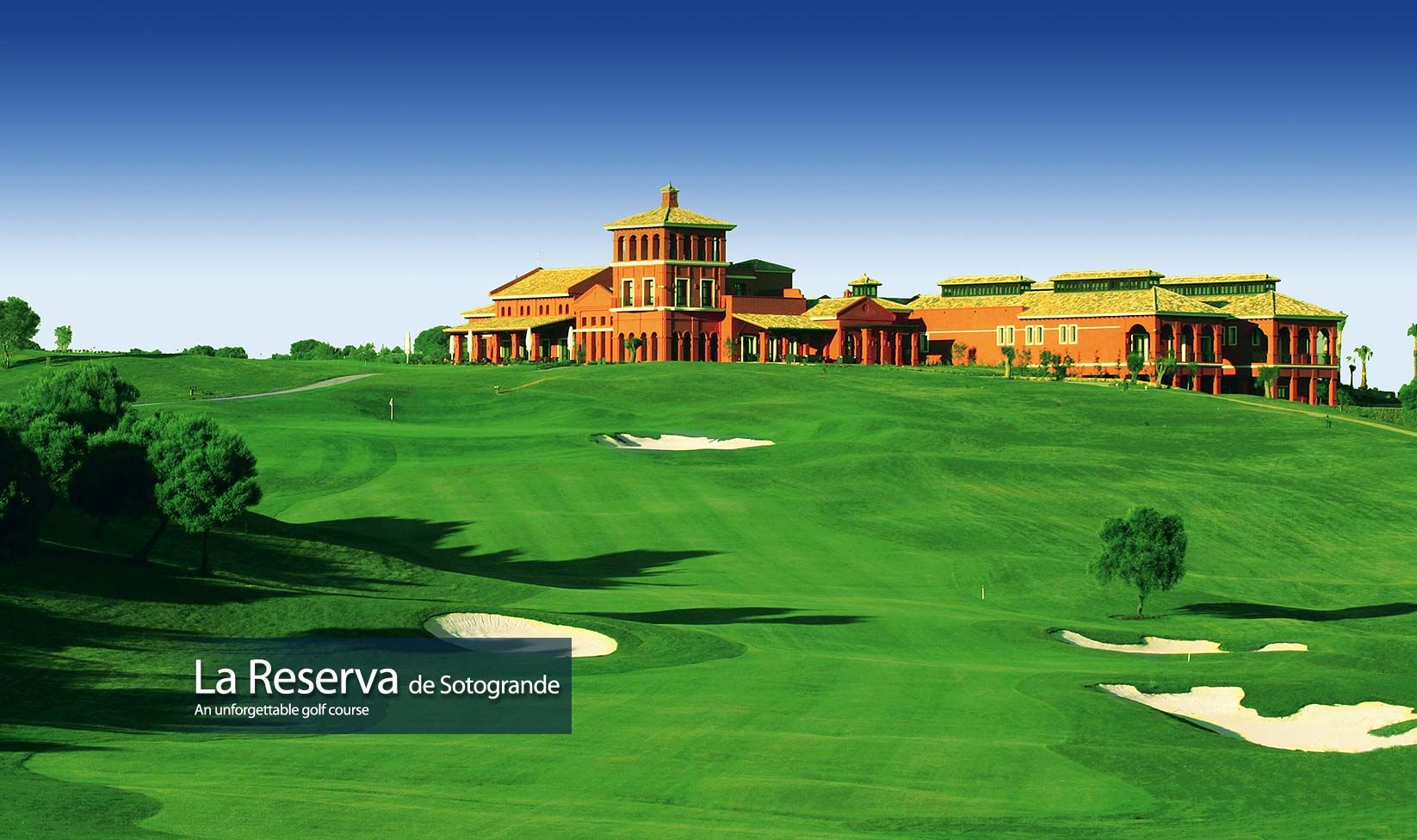 La Reserva Campo De Golf En Sotogrande Uno De Los Mejores De Espana Golf Vacations Dubai Golf Golf Courses