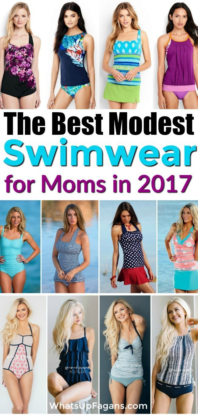 6c790042950 Great list of websites that sell fashionable modest swimsuit and swimwear  for moms and teens who