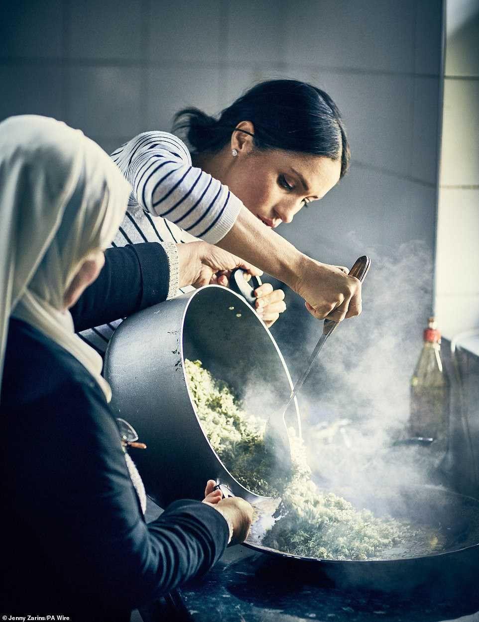 HRH The Duchess of Sussex Hubb Community Kitchen