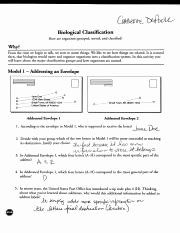 50 Biological Classification Worksheet Answer Key in 2020 ...