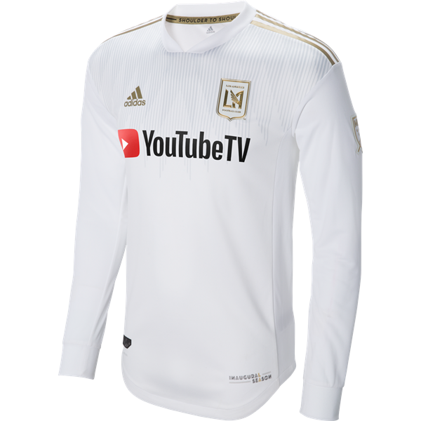 pick up ec9a9 b3487 adidas LAFC Long Sleeve Authentic Away Jersey   Soccer ...