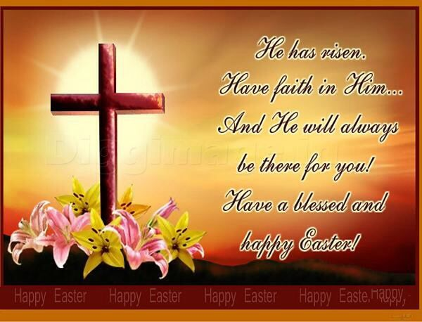 Happy easter yall the fatherthe son and the holy ghost have a definite collection to express your happy easter greeting thoughts to folks mom wife easter greeting card saying for mother wife newest m4hsunfo