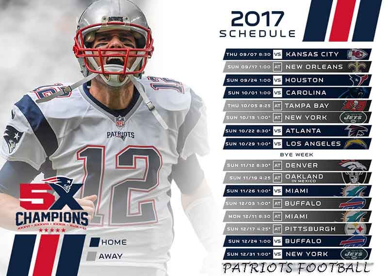 New England Patriots Vs Kansas City Chiefs 2017 Kickoff Game Preview