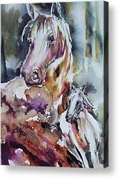 Horse Power Painting by Donna Acheson-Juillet - Horse Power Fine Art Prints and Posters for Sale