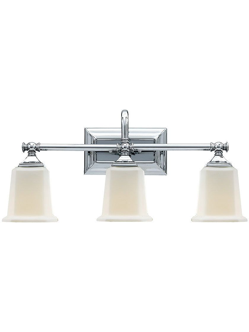 Nicholas Three Light Sconce In Polished Chrome | House of Antique ...