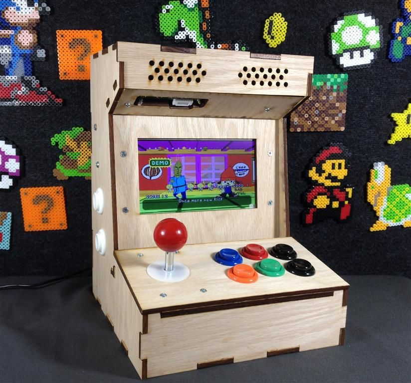 Custom Built Arcade And Mame Cabinets. Build Your Own Arcade