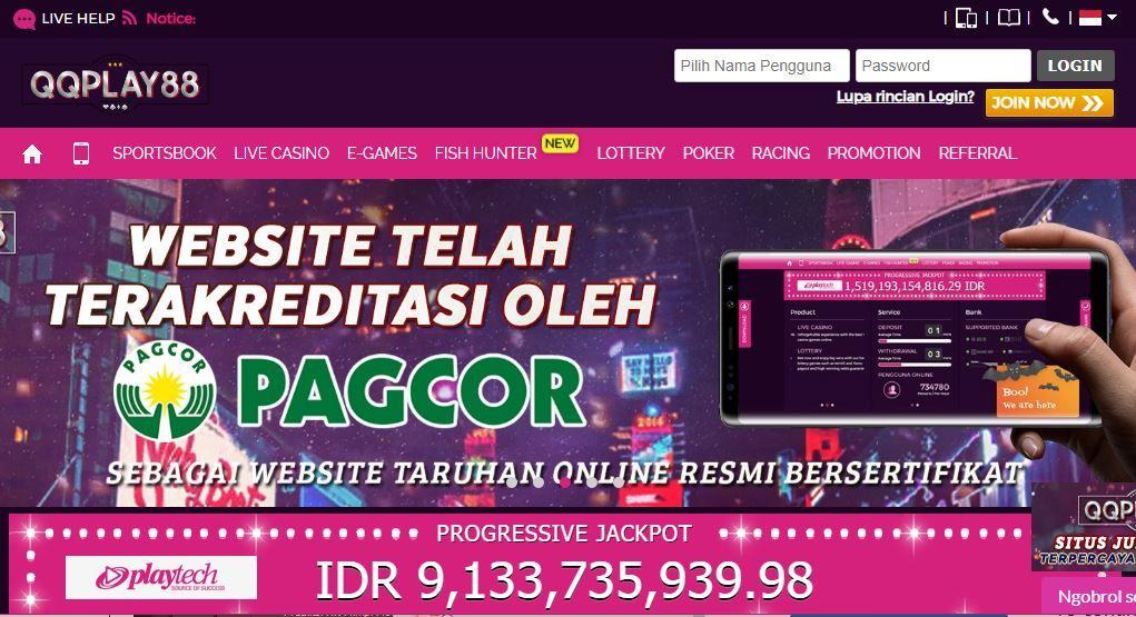 Qqplay88 Link Alternatif Terbaru Website Bandar Agen
