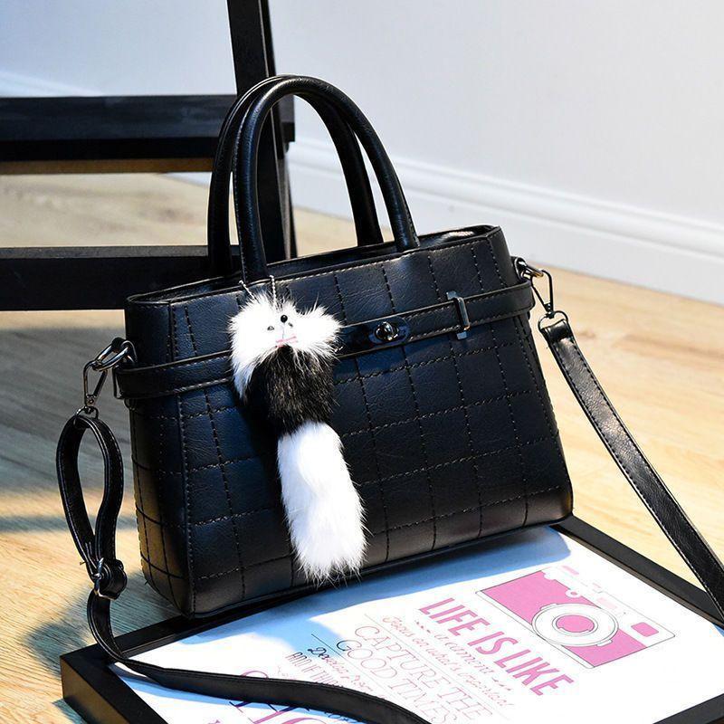 Style Women'S Leather Bag Office Lady Shoulder Bag Messenger Bag Handbag P98