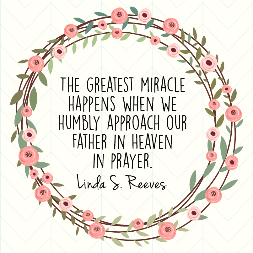 The Greatest Miracle Happens When We Humbly Approach Our Father In