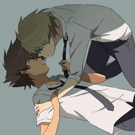 Digimon gay fan art