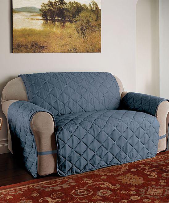 Best Slate Blue Microfiber Ultimate Xl Furniture Protector 400 x 300