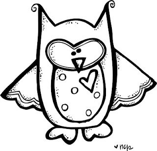 Cute Art That Could Be Used For A Nursery Owl Clip Art Clip Art Borders Digi Stamps