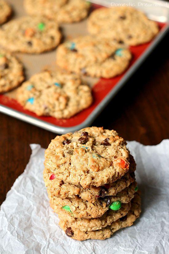 Monster Cookies Recipe Chocolate Chip Cookies Monster Cookies Dairy Free Treats